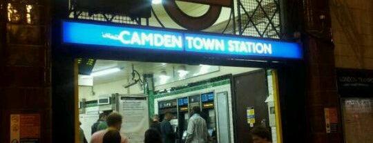 Camden Town London Underground Station is one of Underground Stations in London.