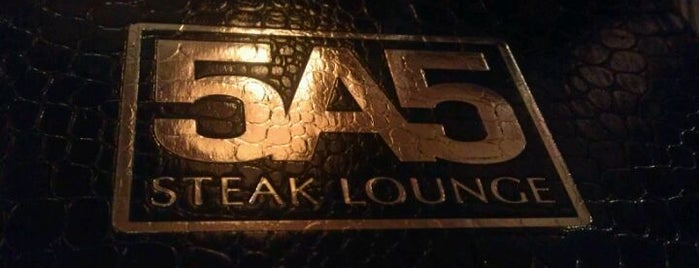 5A5 Steak Lounge is one of Must Eat Places.