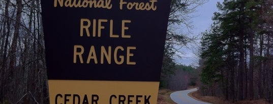 Cedar Creek Rifle Range is one of Posti salvati di Joshua.