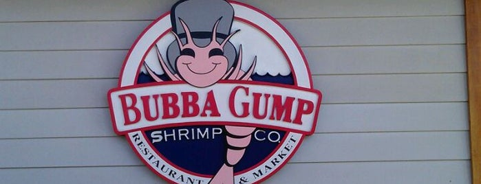 Bubba Gump Shrimp Co. is one of L.A. My Places.
