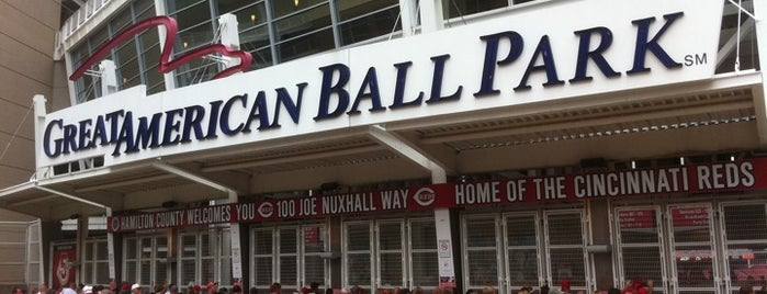 Great American Ball Park is one of MLB Baseball Stadiums.