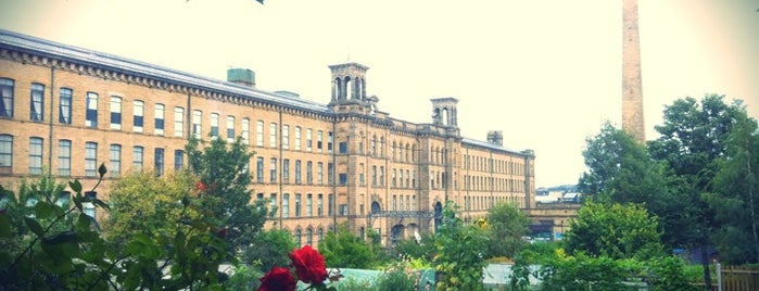 Salts Mill is one of Tempat yang Disimpan Tristan.