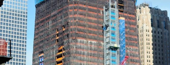 Всемирный торговый центр 1 is one of Manhattan.