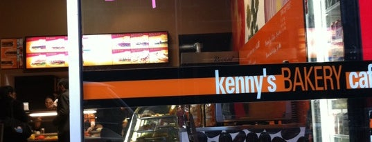 Kenny's Bakery is one of Lugares favoritos de Mike.