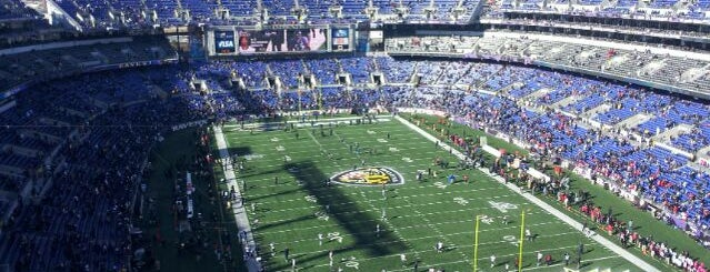 M&T Bank Stadium is one of Charm City's Finest.