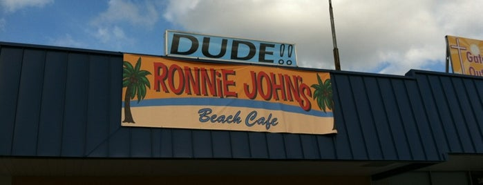 Ronnie Johns Beach Cafe is one of Marietta.