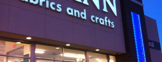 Joann Fabric And Crafts is one of Lugares favoritos de Whitney.