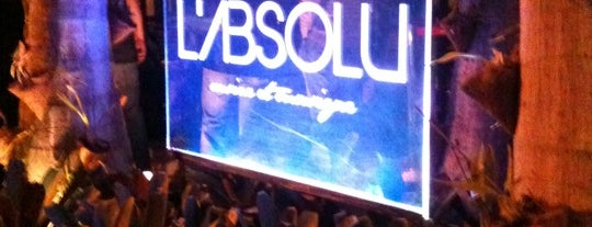 L'Absolu - Cusine et Musique is one of Roubada.
