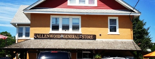 Allenwood General Store is one of Jersey.