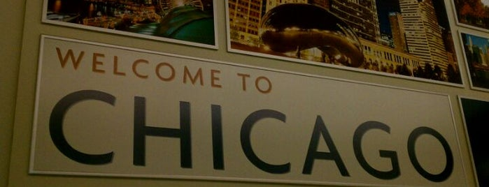 Chicago Midway International Airport (MDW) is one of Friends Food.