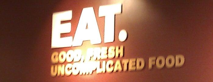EAT. is one of สถานที่ที่ Merje ถูกใจ.