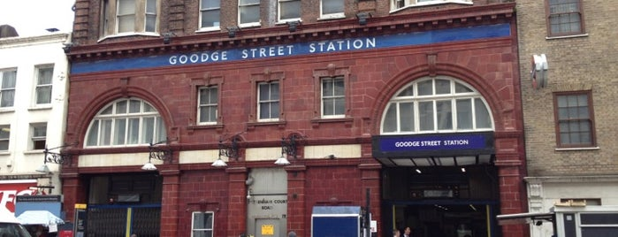 Goodge Street London Underground Station is one of London.