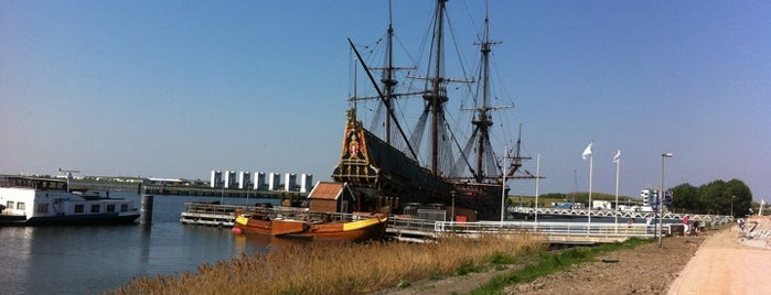 Bataviawerf is one of Ships (historical, sailing, original or replica).