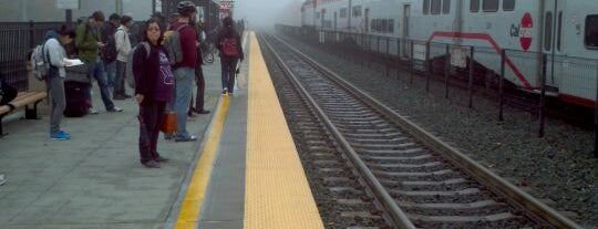 Mountain View Caltrain Station is one of Bay Area.