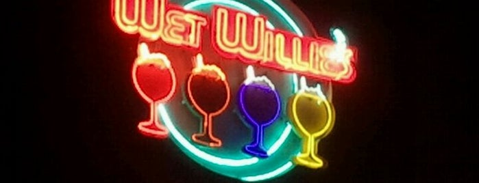Wet Willie's is one of Miami!.