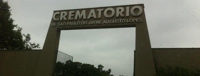 Crematório Municipal Doutor Jayme Augusto Lopes is one of Lugares favoritos de Alberto J S.