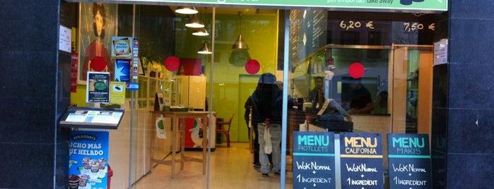 Àsia amb Gràcia is one of Restaurantes.