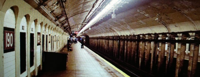 MTA Subway - 190th St (A) is one of National Historic Landmarks in Northern Manhattan.
