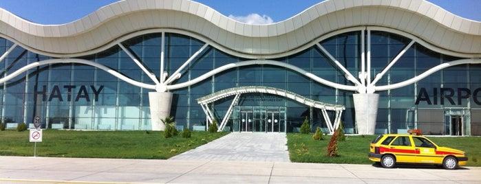 Hatay Havalimanı (HTY) is one of Türkiye'deki Havalimanları.