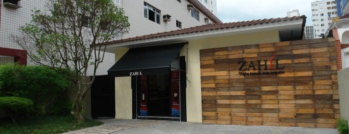 Zahil Vinhos - Santos is one of Cris : понравившиеся места.