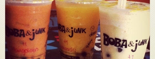 Boba & Junk is one of Locais curtidos por Gerard.