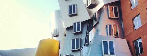 MIT Stata Center (Building 32) is one of Boston.
