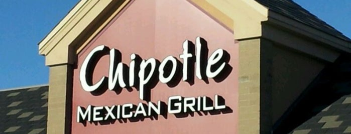 Chipotle Mexican Grill is one of Stephen : понравившиеся места.