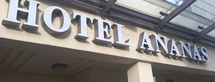 Austria Trend Hotel Ananas is one of สถานที่ที่ Nadir Ç. ถูกใจ.