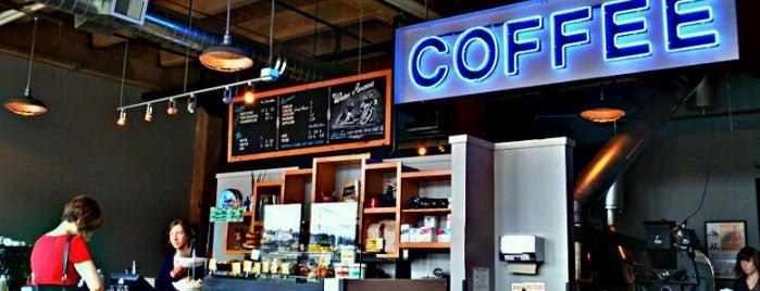 Water Avenue Coffee Company is one of Good Portland.