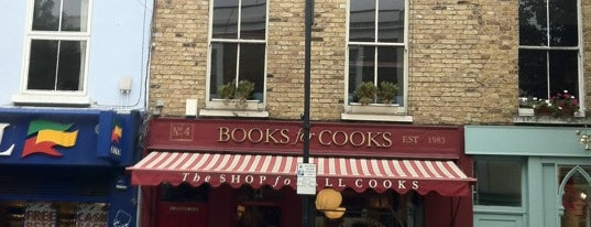 Books For Cooks is one of London for New Yorkers [shop].