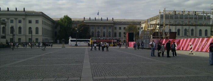 Bebelplatz is one of StorefrontSticker #4sqCities: Berlin.