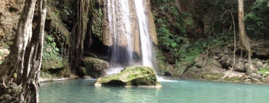 Erawan National Park is one of Bangkok.