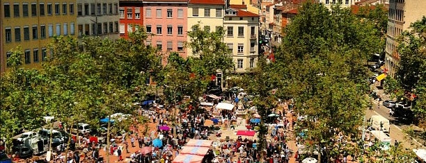 Place de La Croix-Rousse is one of Hip to Be Square!.