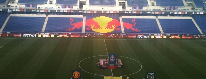 Red Bull Arena is one of Come Back Later.