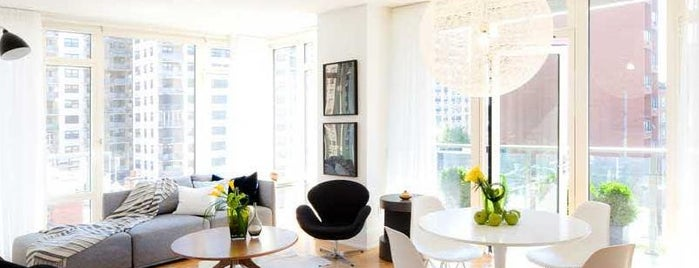 The Georgica is one of (Uber-cool apartments) in Manhattan.