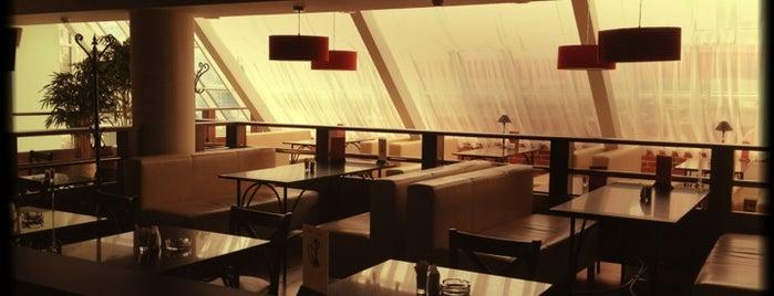 """кафе """"RED Kleн"""" is one of Orte, die EVGENIA gefallen."""