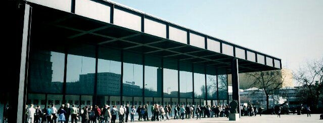 Neue Nationalgalerie is one of Museums.