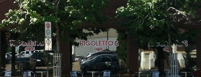 Rigoletto's is one of Tempat yang Disukai Lesley.