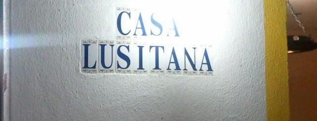 Casa Lusitana is one of JP depois do banho de mar.