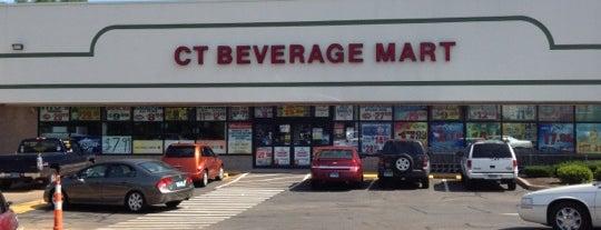 CT Beverage Mart is one of Orte, die Lindsaye gefallen.
