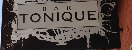 Bar Tonique is one of Friends' Favs.