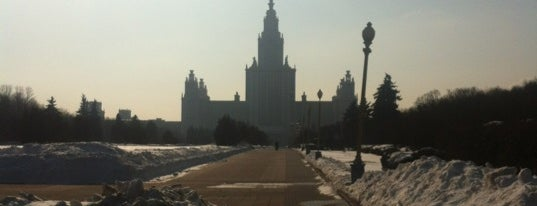 Observation Deck is one of TOP of Moscow.