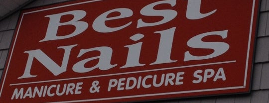 Best Nails is one of eva's Liked Places.