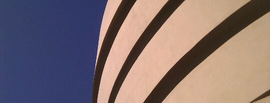 Solomon R Guggenheim Museum is one of NY To Do.