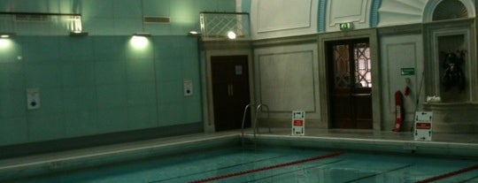 Marshall Street Leisure Centre is one of Get Fit in London.