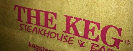 The Keg Steakhouse + Bar - Ajax is one of Tempat yang Disukai DJ.