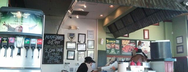 Wingstop is one of Good Eats.