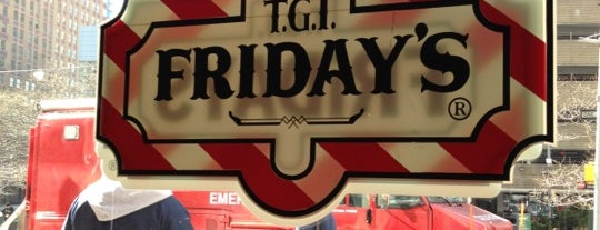 TGI Fridays is one of Places in NY.