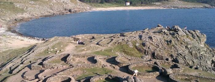 Castro de Baroña is one of Playas de España: Galicia.