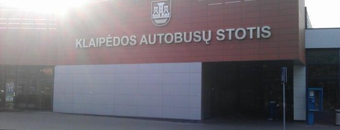 Klaipėdos autobusų stotis is one of Orte, die Valeriа gefallen.